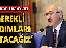 Son dakika! Hazine ve Maliye Bakanı Lütfi Elvan: 'Gerekli adımları atacağız'