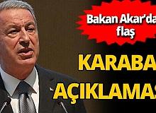 Son dakika! Hulusi Akar'dan flaş Karabağ açıklaması: 'Rusya'dan heyet geliyor'