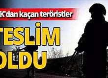 Son dakika! İçişleri Bakanlığı açıkladı: 'Gri kateogoride yer alan terörist teslim oldu.