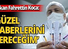 Son dakika! Sağlık Bakanı Fahrettin Koca'dan yerli aşı müjdesi: 'Güzel haberlerini vereceğim'