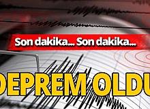 Son dakika! Yalova'da deprem oldu!