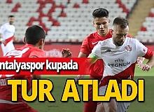 Son dakika...Antalyaspor kupada tur atladı