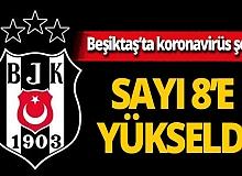 """Son dakika...Beşiktaş duyurdu: """"5 futbolcumuzun testi pozitif"""""""