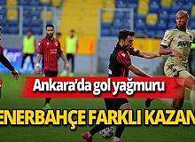 Son dakika...Fenerbahçe Gençlerbirliği deplasmanında farklı kazandı