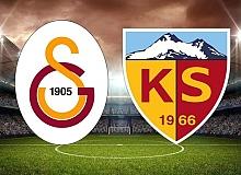 Son dakika...Galatasaray - Kayserispor maçının 11'leri belli oldu