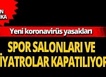 Son dakika...İstanbul Büyükşehir Belediyesi'ne ait spor salonları, kültür merkezleri ve tiyatrolar kapatılacak