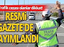 Trafik cezası olanlar dikkat! Yüzde 25 indirim yapılacak