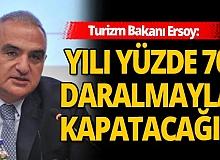 Turizm Bakanı Mehmet Nuri Ersoy: 2021'de daha cesur olmamız gerekiyor