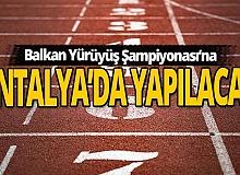 Türkiye atletizmde önümüzdeki yıl 4 balkan şampiyonasına ev sahipliği yapacak