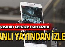 Yahyalı Belediye Başkanı Esat Öztürk babasının cenazesini canlı yayından izledi