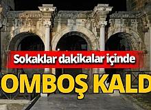 Yasak başladı Antalya'da sokaklar 4 dakikada boşaldı