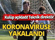 Yılport Samsunspor Teknik Direktörü  Ertuğrul Sağlam ve Mustafa Aztopal koronavirüse yakalandı