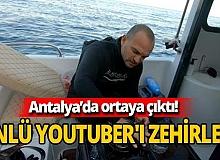 Youtuber Çağdaş Özsarı'yı Antalya'da aslan balığı zehirledi