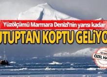 Yüzölçümü Marmara Denizi'nin yarısı kadar