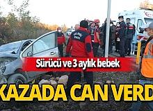Zonguldak'ta otomobil duvara çaptı! Yadigar Eroğlu ve Hilal Tekin hayatını kaybetti