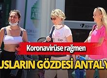 Antalya bu yıl da Rusların gözdesi oldu