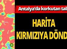 Antalya'da HES haritası kırmızıya döndü