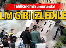 Belediye ekipleri yıktı! Vatandaş seyretti