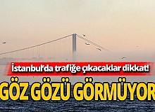 İstanbul sise teslim oldu! Boğaz'da gemi geçişleri çift yönlü askıya alındı