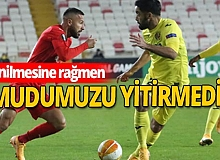 Sivasspor - Villarreal maçı sona erdi...