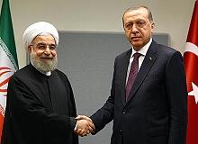 Recep Tayyip Erdoğan Hasan Ruhani ile görüştü