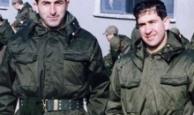 Bakan askerlik fotoğrafını paylaştı
