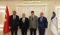 Bakan Fakıbaba'dan Başkan Türel'e ziyaret