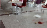Hastane kantininde dehşet