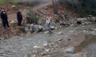 Antalyalılar dereye köprü istedi