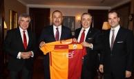 Başkan Cengiz'den Bakan Çavuşoğlu'na ziyaret