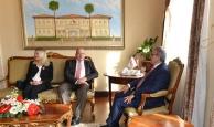 Letonya Büyükelçisinden Vali Karaloğlu'na ziyaret