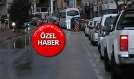Antalya'da trafik felç oldu