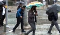 Antalya'ya yağış uyarısı