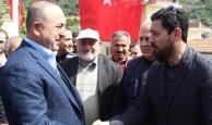 Bakan Çavuşoğlu şehit mevlidine katıldı