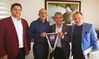 Başkan Sağır'dan AGC Başkanı Yeni'ye ziyaret