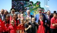 23 Nisan Antalya'da coşkuyla kutlandı