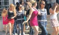 Antalya'da 10 kadın kurtarıldı