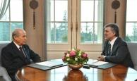 Devlet Bahçeli'den Abdullah Gül çıkışı