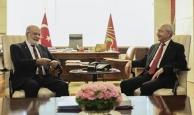 Görüşme sonrası iki liderden açıklama
