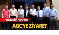 Antalya İYİ Parti'den AGC'ye ziyaret