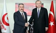 Cumhurbaşkanı Erdoğan Mustafa Destici'yi ziyaret etti