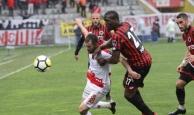 Gençlerbirliği Antalyaspor maçında görülmemiş olay