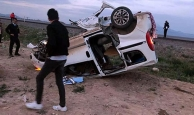 Miting dönüşü feci kaza