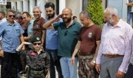 Özel harekatçı Antalya'ya döndü