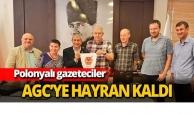 Polonyalı gazeteciler AGC'ye hayran kaldı