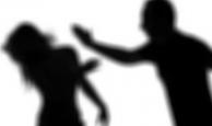 Sokakta eşini dövdü