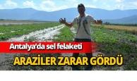 Antalya'da sel felaketi