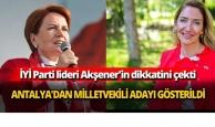 Antalya'dan milletvekili adayı gösterildi