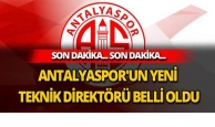 Antalyaspor'un yeni hocası belli oldu