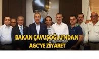 Bakan Çavuşoğlu'ndan AGC'ye ziyaret
